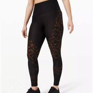 """NWT Lululemon Mapped Out High-Rise Tight 28"""" Camo"""
